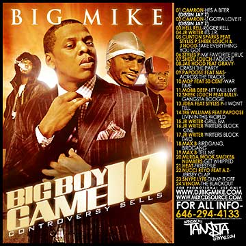 Pharrell - Big Mike Presents The Big Boy Game 6
