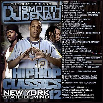 Smooth Denali* DJ Smooth Denali·Presents Jay-Z - Who's The Greatest MC? Volume Two