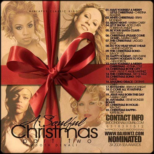 Smooth Denali - A Soulful Christmas 2 | MixtapeTorrent.com