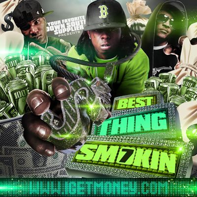 Cover: VA - DJ Smallz - Best Thing Smokin Vol. 7