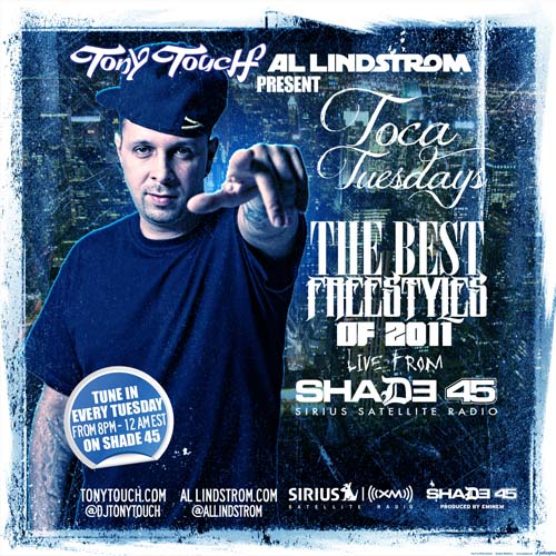 tony touch the best toca tuesdays freestyles of 2011