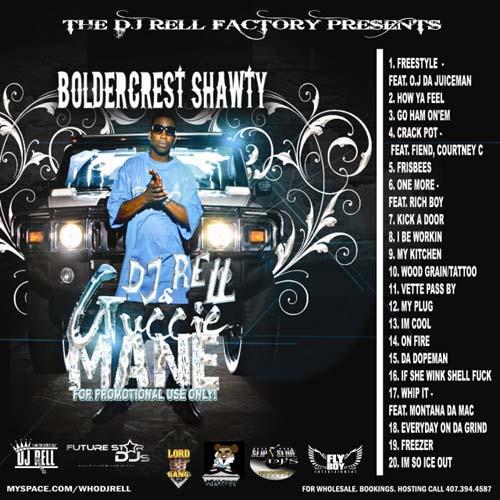 My Kitchen Gucci Mane: DJ Rell & Gucci Mane - Boldercrest Shawty