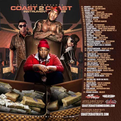 coast 2 coast instrumentals vol 28
