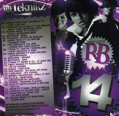 M P Tracker DJ Teknikz Executive RnB 14 preview 0