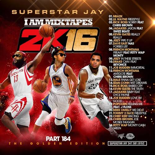 Superstar Jay - I Am Mixtapes 184 (2K16) | MixtapeTorrent com