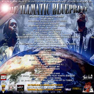 DJ Tiger Presents Nas & Jay-Z - The Illmatic Blueprint
