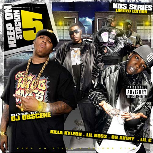 Killa Kyleon, Lil C, Lil Boss & OG Avery – Keep On Stackin 5 (Mixtape)