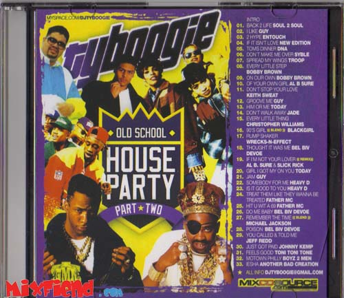Ty boogie old school house party vol 2 for Classic house music mixtapes