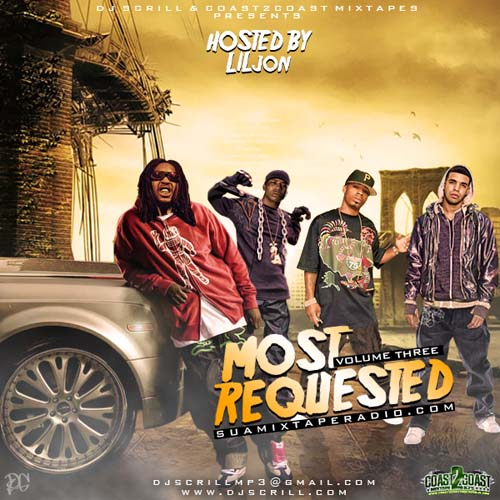 (Rap) DJ Scrill - Most Requested Vol 3 (Hosted By Lil Jon) - 2009, MP3 (tracks), 192 kbps