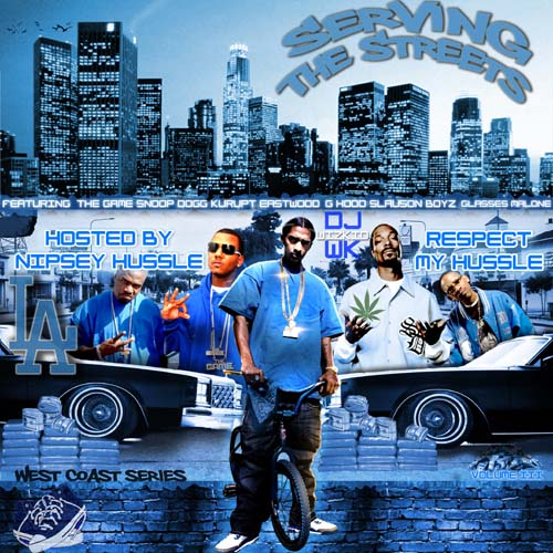 DJ Wizkid - Serving The Streets Vol 3 (Hosted By Nipsey