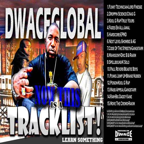 Dwace Global - Now This Is A Tracklist
