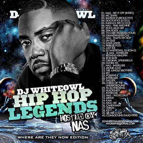 DJ Whiteowl - Hip Hop Legends (Hosted By Nas)